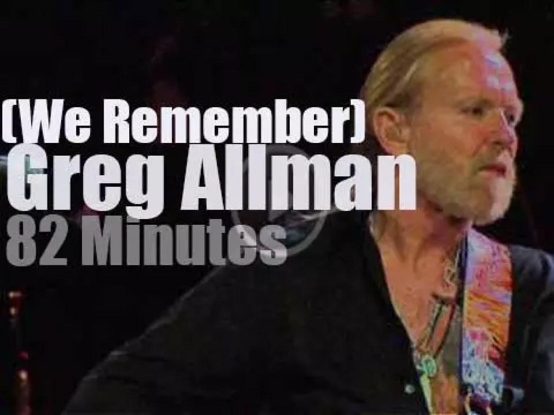 We Remember Greg Allman