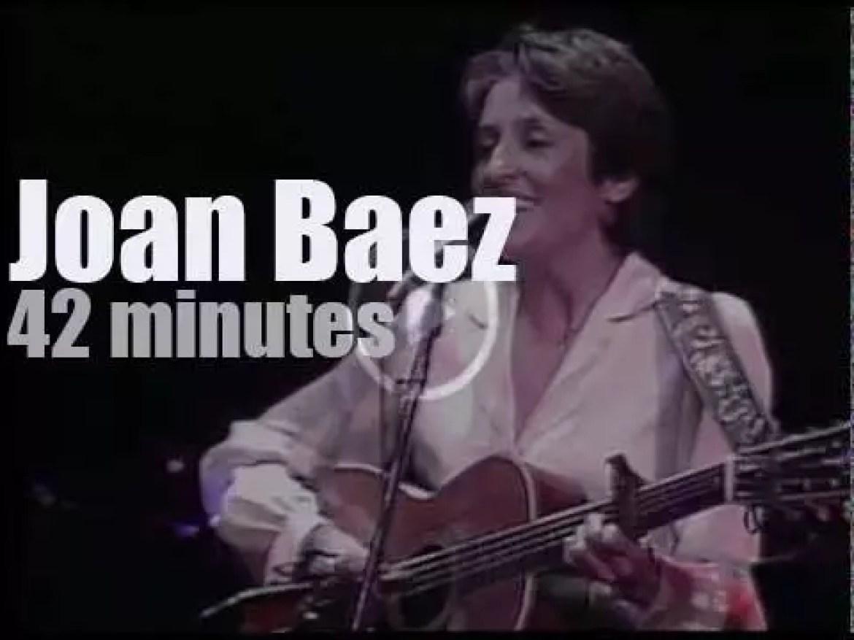 Joan Baez sings with Jerry Garcia et al (1981)