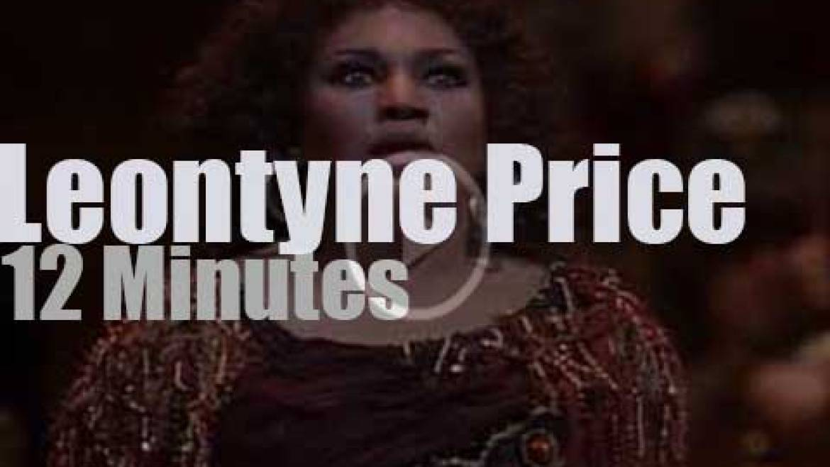 Leontyne Price sings Aida, one last time (1985)