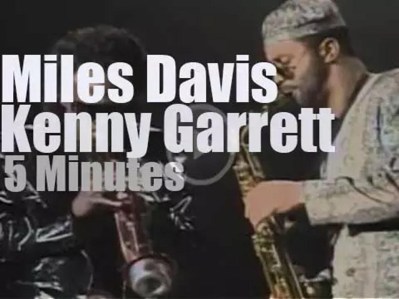 Miles Davis & Kenny Garrett celebrate John Lennon (1990)