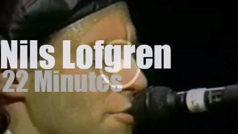 Nils Lofgren performs for a school (1988)