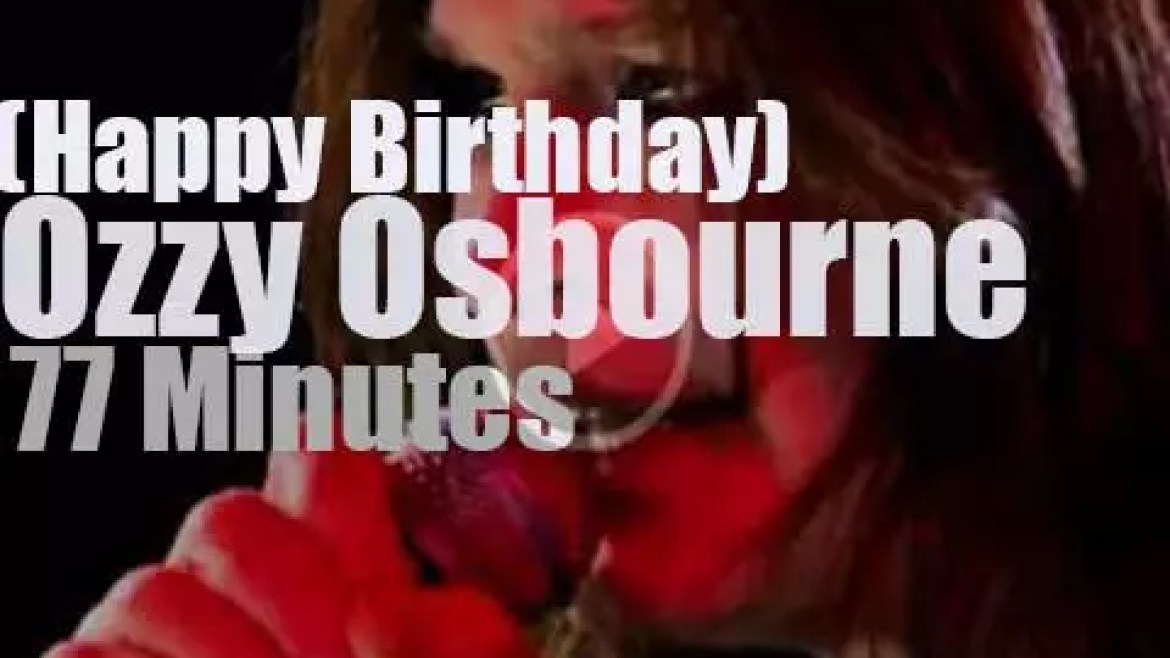 Happy Birthday Ozzy Osbourne