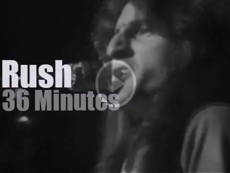Rush travel to New Jersey (1976)