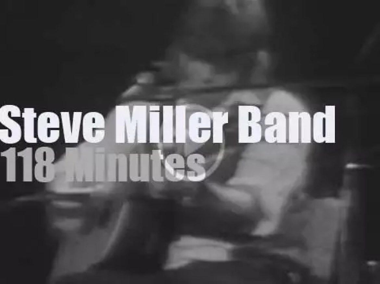 The Steve Miller Band visits Winterland (1974)