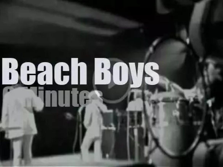 The Beach Boys attend a Gala in Paris (1967)