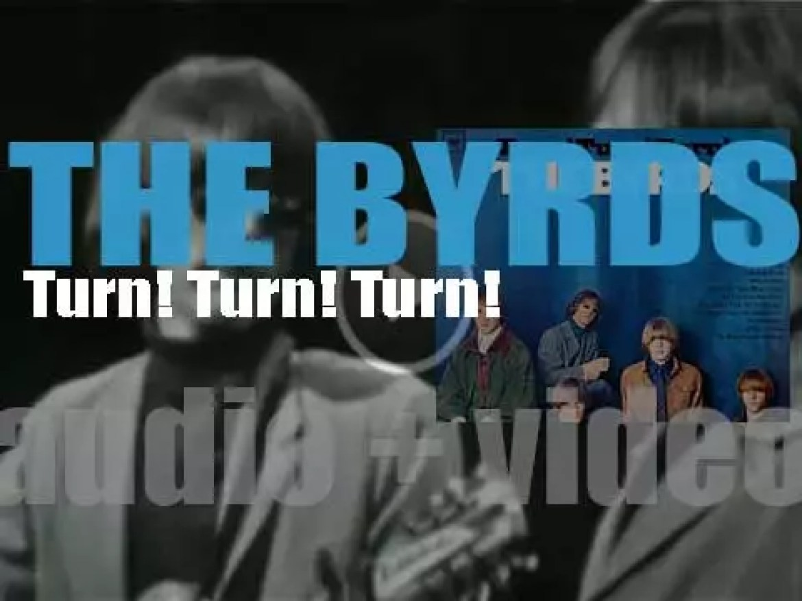 Columbia publish The Byrds' second album : 'Turn! Turn! Turn!' (1965)