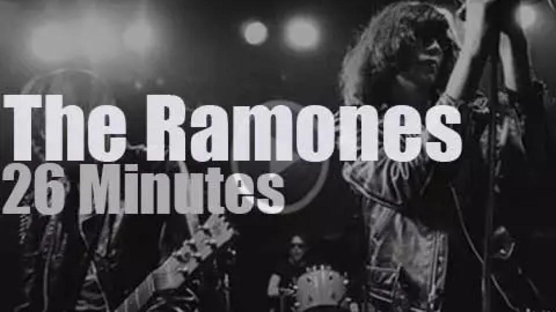 The Ramones travel to London (1977)