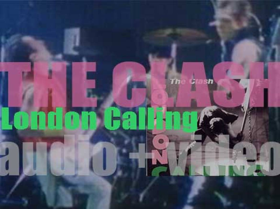 The Clash release their third album : 'London Calling' featuring 'Spanish Bombs,' 'Train in Vain' and 'The Guns of Brixton' (1979)