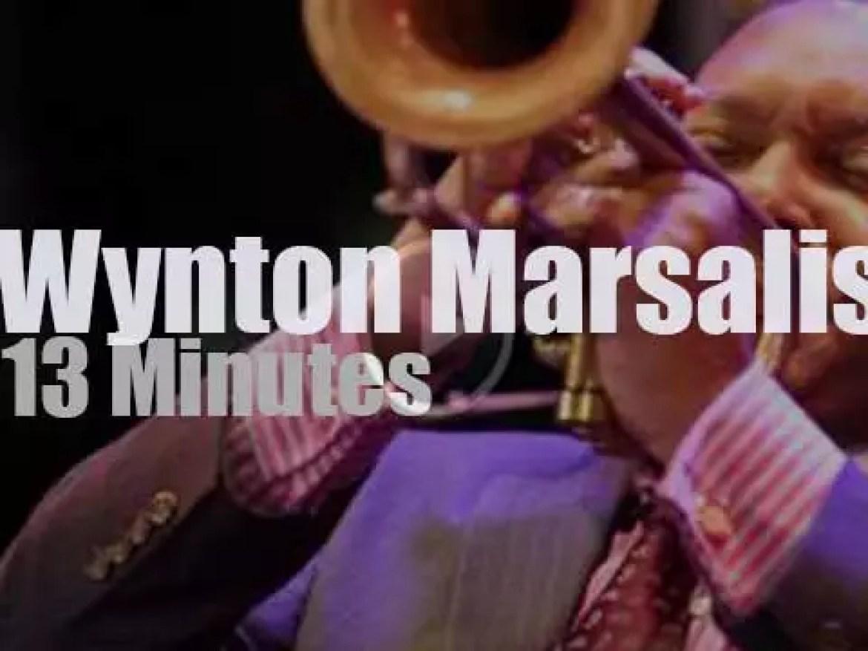 Wynton Marsalis  celebrates Louis Armstrong (2012)