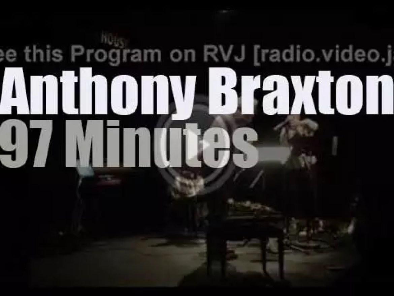 Anthony Braxton performs in Copenhagen (2015)