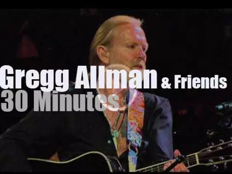 Taj, Eric et al celebrate Gregg Allman (2014)