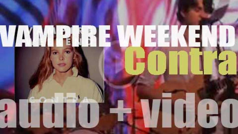 XL Recordings publish Vampire Weekend's second album  : 'Contra' (2010)