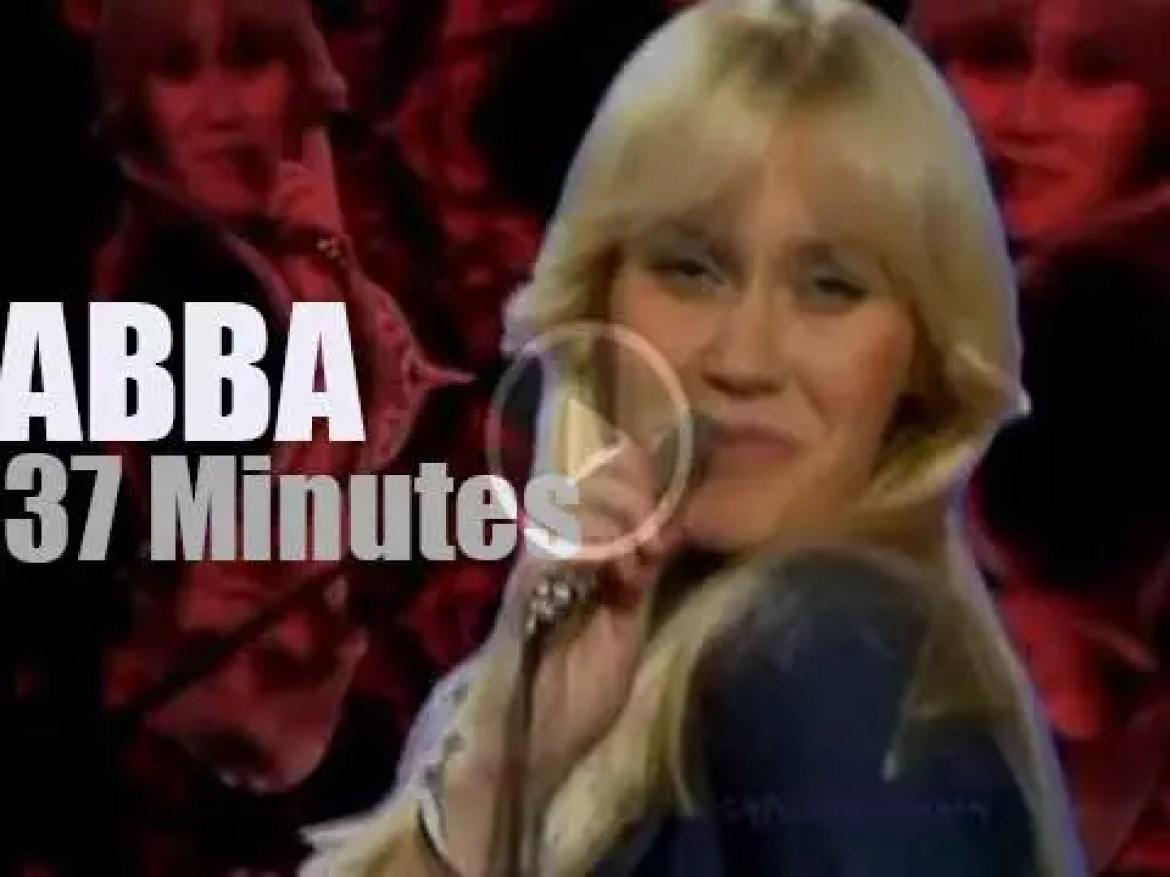 German TV tapes ABBA (1976)