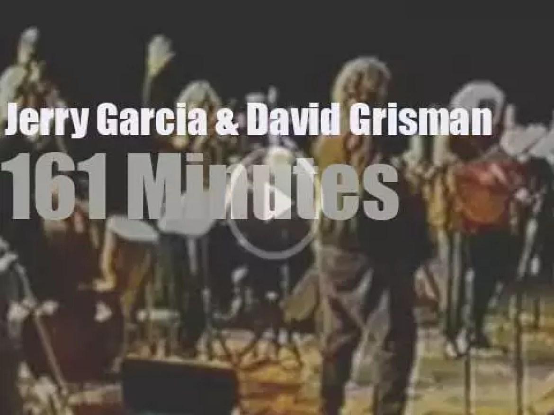 Jerry Garcia teams up with David Grisman (1991)