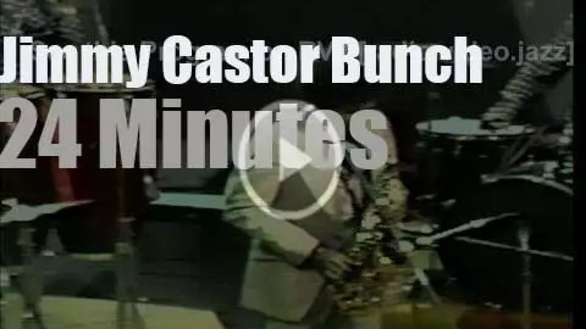 On TV today, Jimmy Castor Bunch at 'SOUL!' (1973)