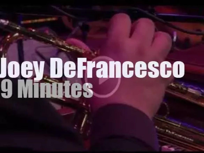 On TV today, Joey DeFrancesco at 'WXXI Arts InFocus' (2014)