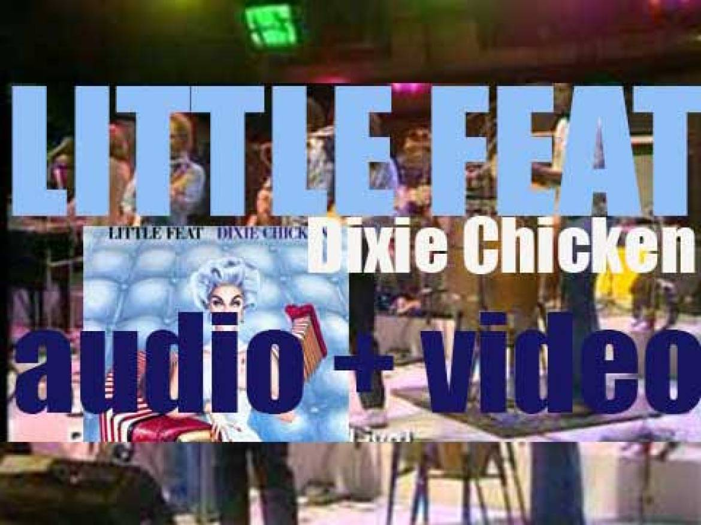 Warner Bros. publish Little Feat's third album : 'Dixie Chicken' (1972)