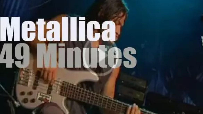 Metallica visit Sydney (2004)