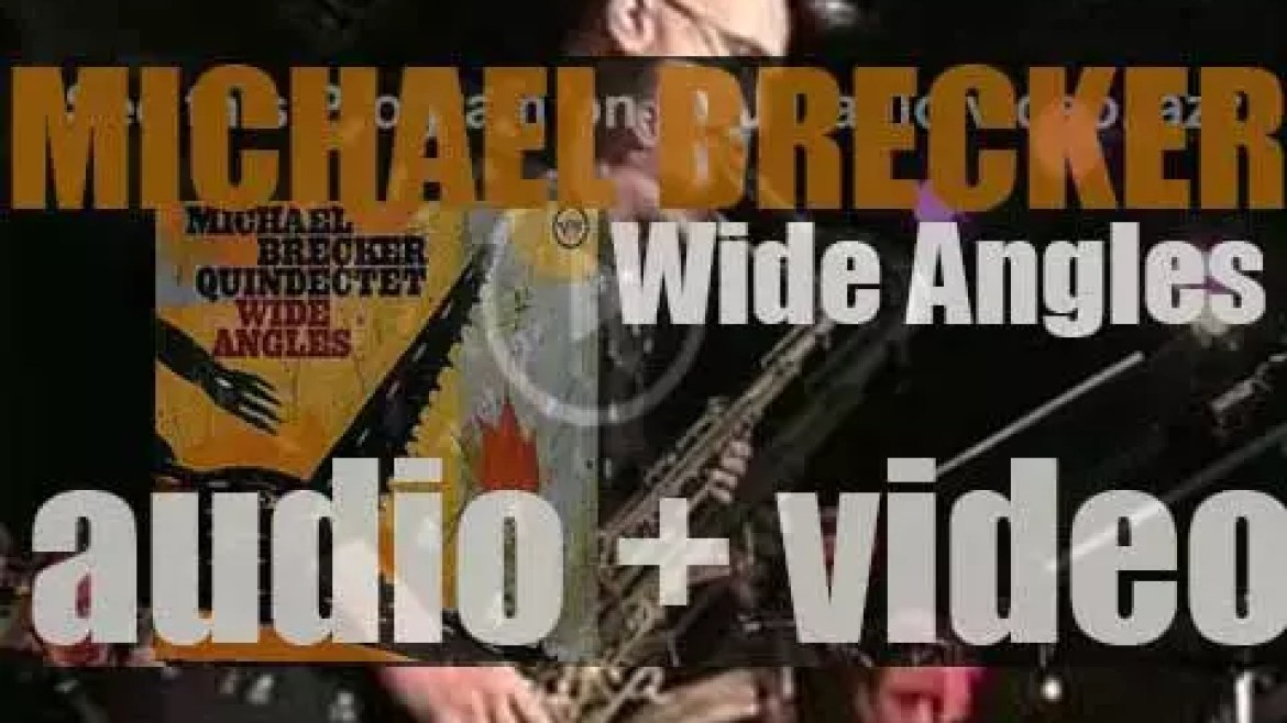 Michael Brecker records 'Wide Angles,' an album for Verve (2003)