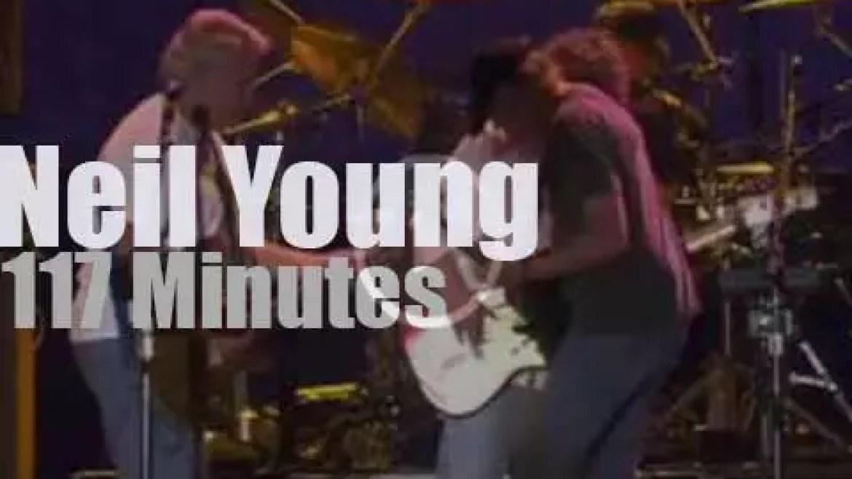 Neil Young & Crazy Horse attend Austin City Limits Festival (2012)