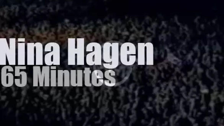 Nina Hagen 'rocks in Rio'  – day 3 (1985)