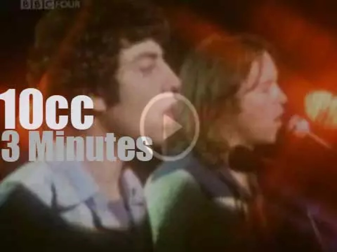 On TV today, 10cc at 'TOTP' (1977)