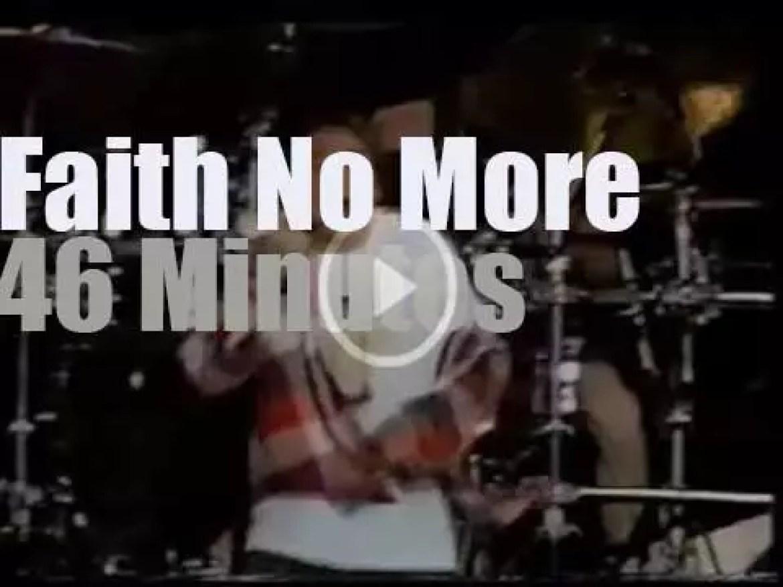 Faith No More rock in Rio II (1991)
