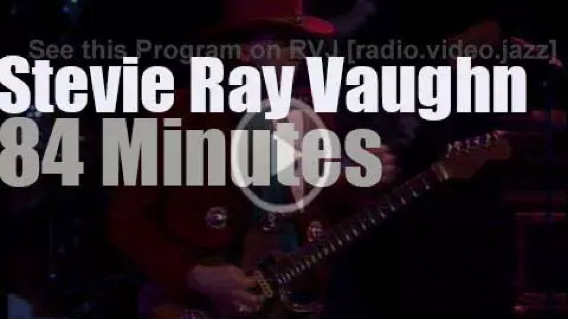 Stevie Ray Vaughn takes Double Trouble to Tokyo (1985)