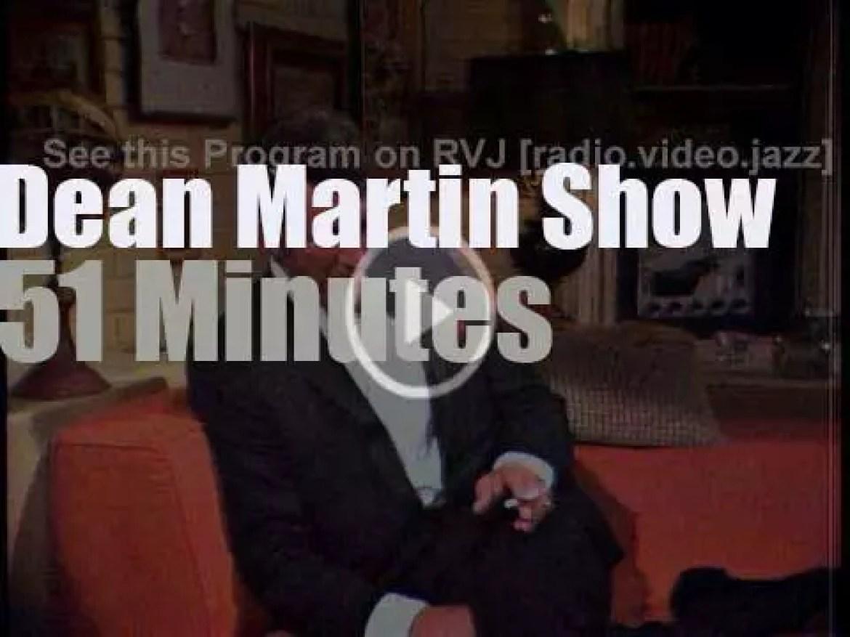 On TV today, Orson Welles et al at 'The Dean Martin Show' (1968)