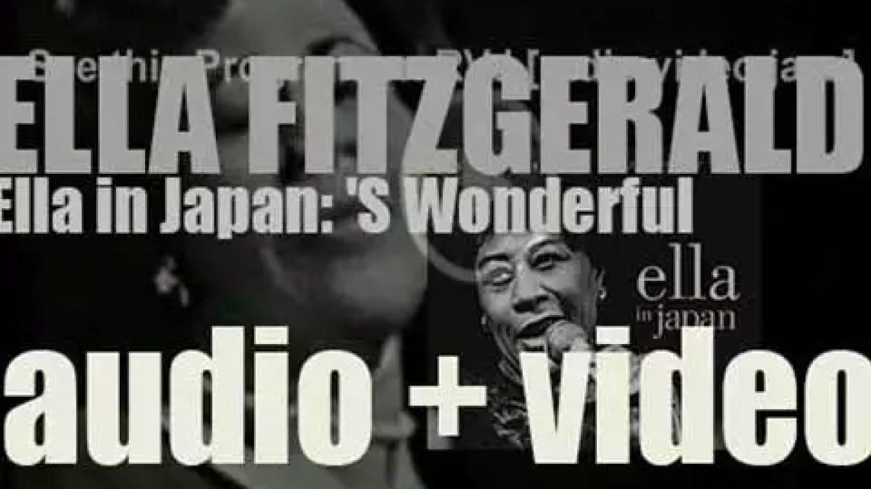 Ella Fitzgerald records 'Ella in Japan: 'S Wonderful' a live album  for Verve (1964)