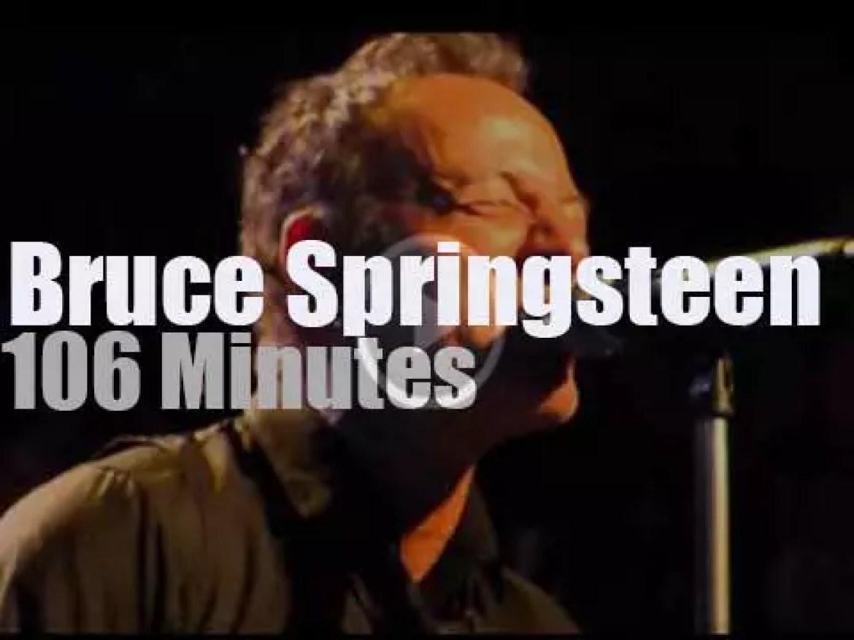 Bruce Springsteen visits Adelaide (2014)