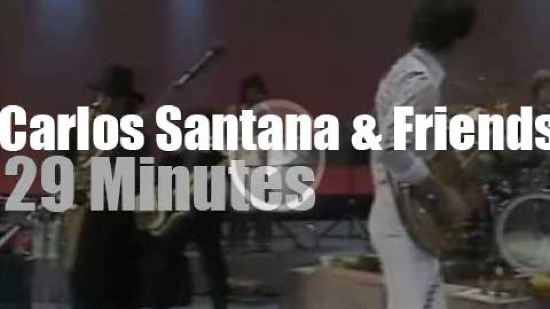 Carlos Santana & Friends –  Tower of Power, Gato Barbieri et al –  rock Chicago (1977)