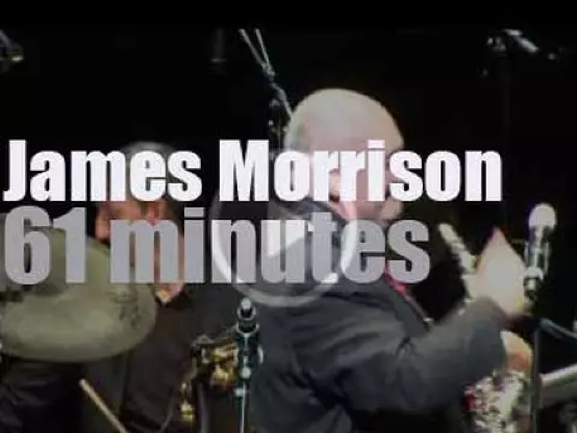James Morrison plays and conducts a big band in Singapore (2014)