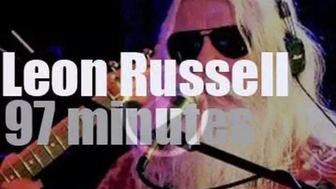 Leon Russell visits New York (2015)