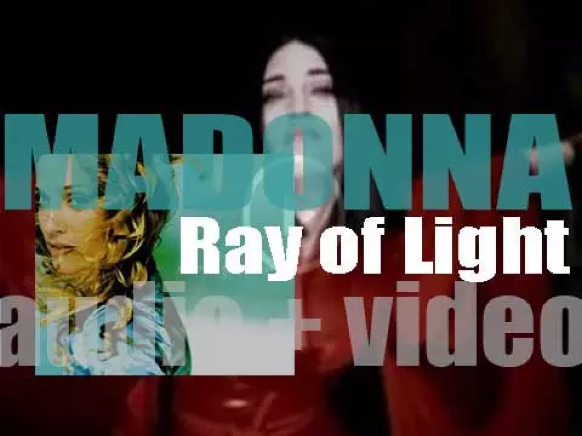 Madonna releases 'Ray of Light,' her seventh album produced mostly with William Orbit (1998)