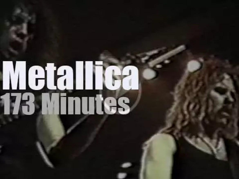 Metallica rock Inglewood (1992)