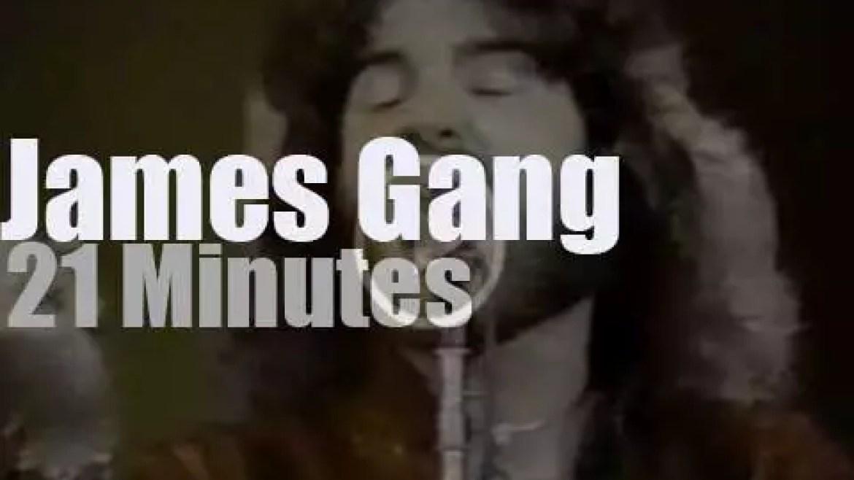 On TV today, James Gang  at 'Don Kirshner's Rock Concert' (1979)