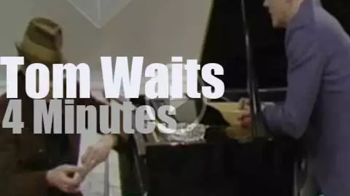 On TV today, Tom Waits is in Ireland (1981)