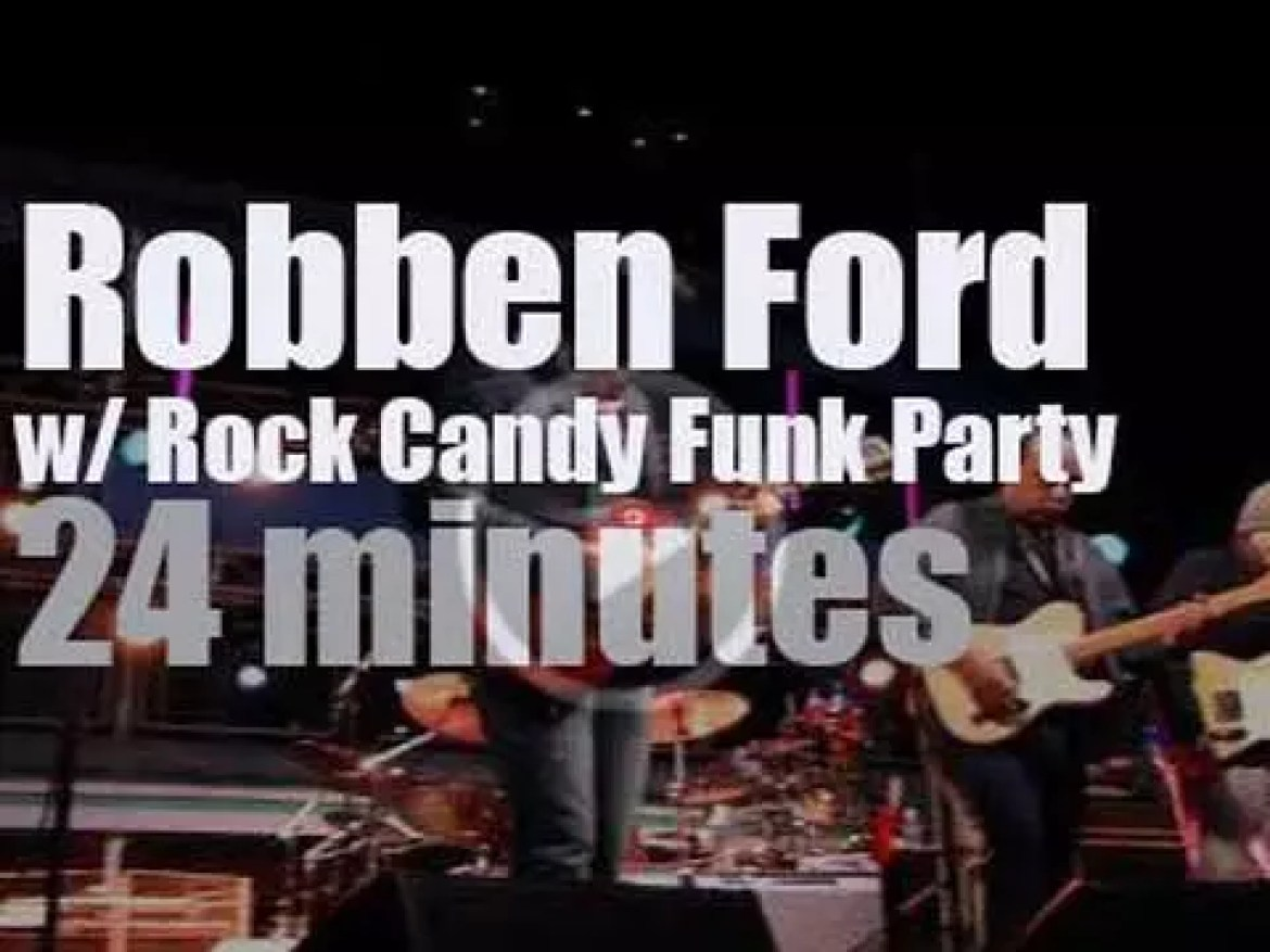 Robben Ford, Joe Bonamassa et al rock the cruise (2015)