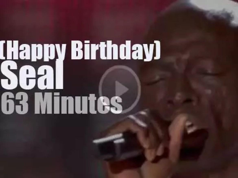 Happy Birthday Seal