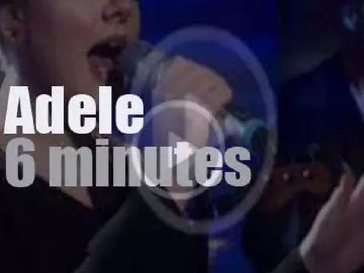 On TV today, Adele promotes '21' at 'Today' (2011)