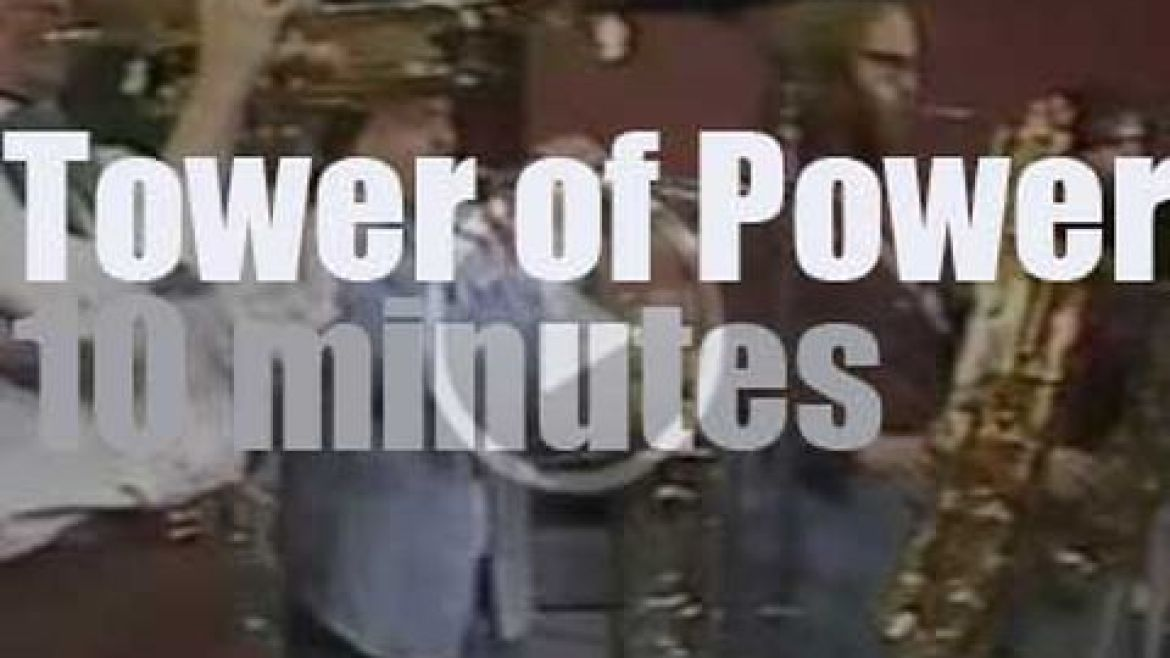 Tower of Power rock Chicago (1977)