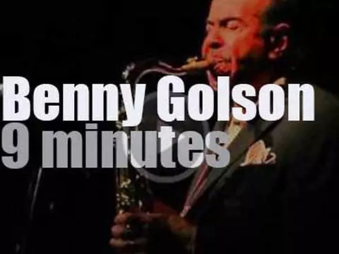 Benny Golson brings his Quartet to Blue Note Milano (2016)