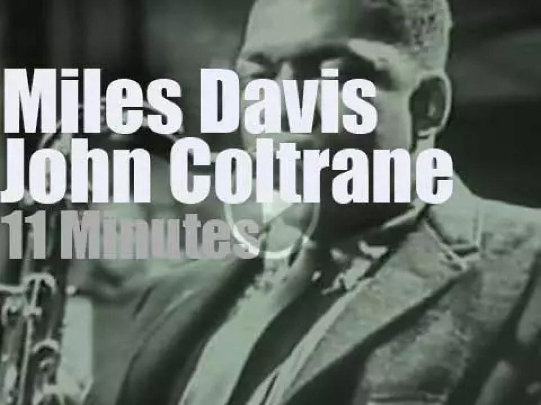 CBS tapes Miles Davis with John Coltrane (1959)