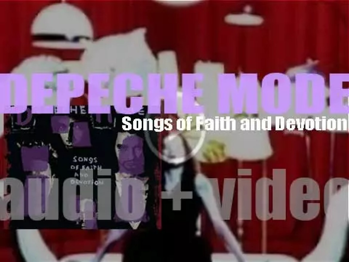Mute Records publish Depeche Mode 's eighth album : 'Songs of Faith and Devotion' (1993)