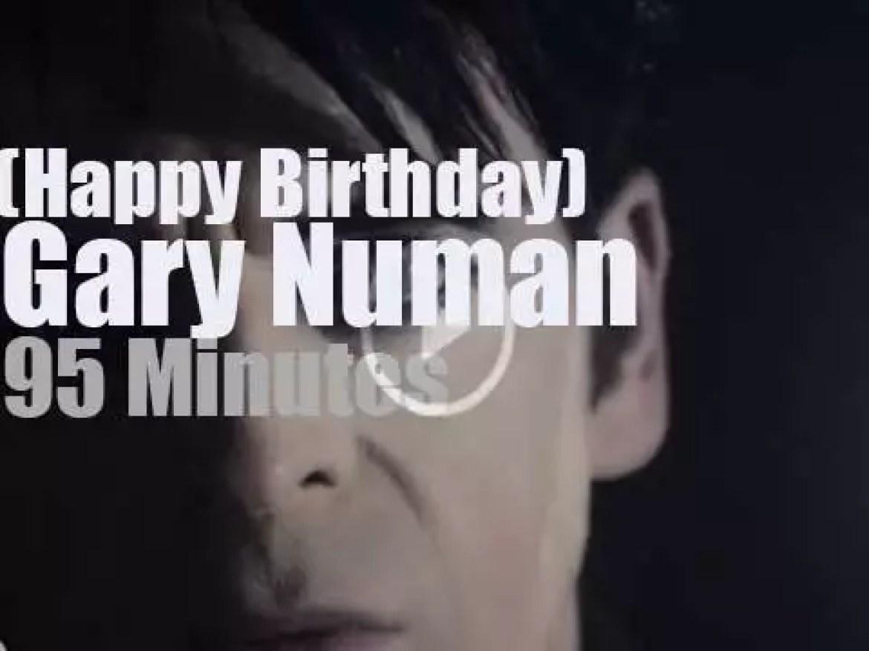 Happy Birthday  Gary Numan