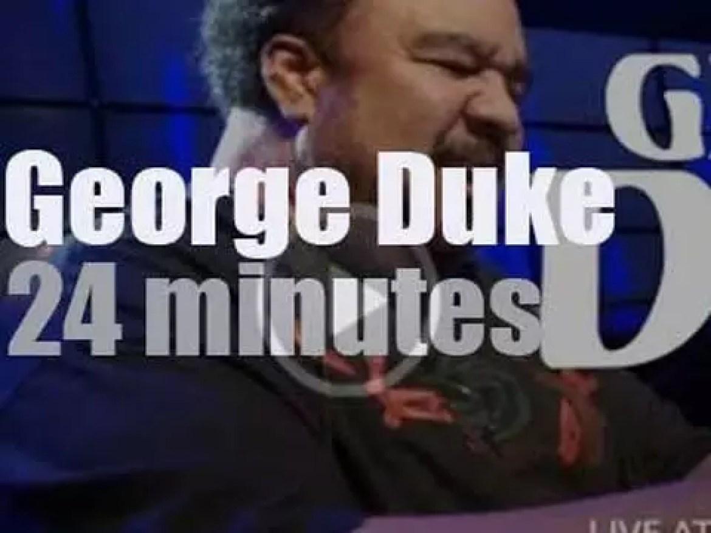 The George Duke Trio will smooth Java Jazz  (2010)