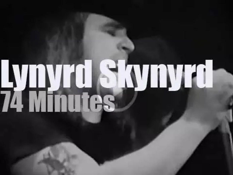 Lynyrd Skynyrd rock Winterland (1976)