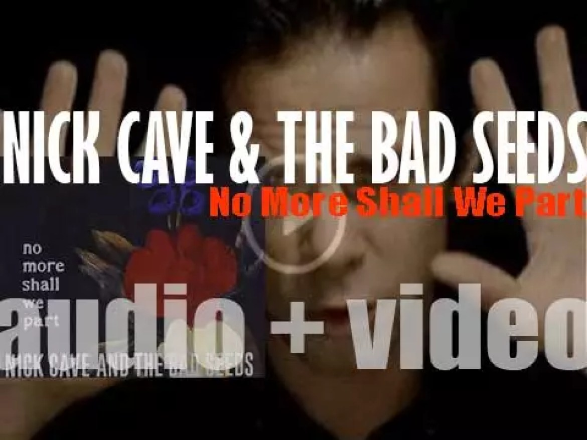 Mute publish 'No More Shall We Part,' Nick Cave & the Bad Seeds'eleventh album (2001)