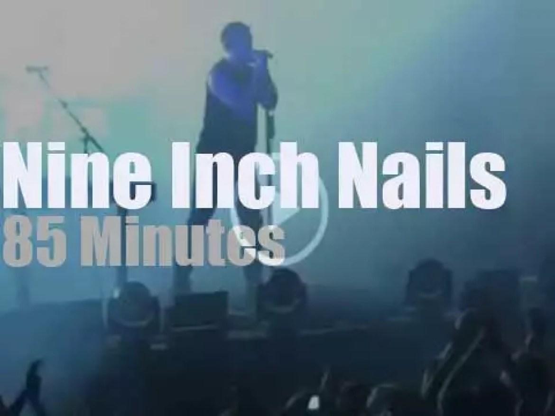 Nine Inch Nails serenade Sydney (2014)